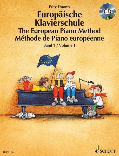 Europäische Klavierschule 1. Buch und CD als Buch