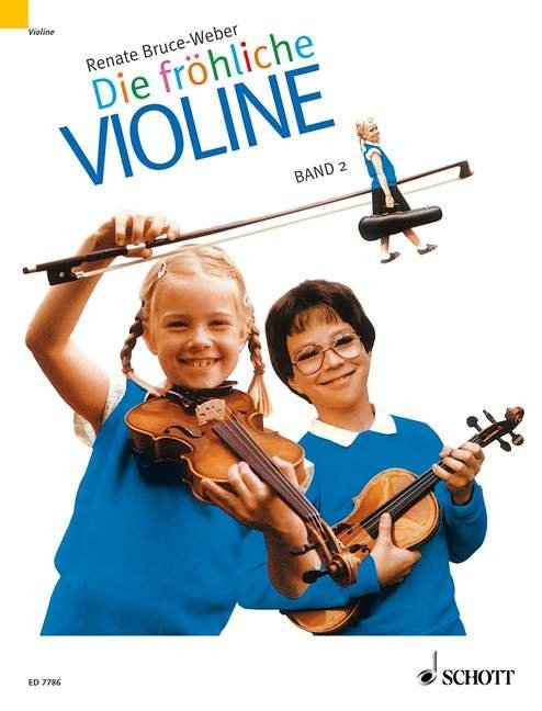 Die fröhliche Violine 2 als Buch (kartoniert)