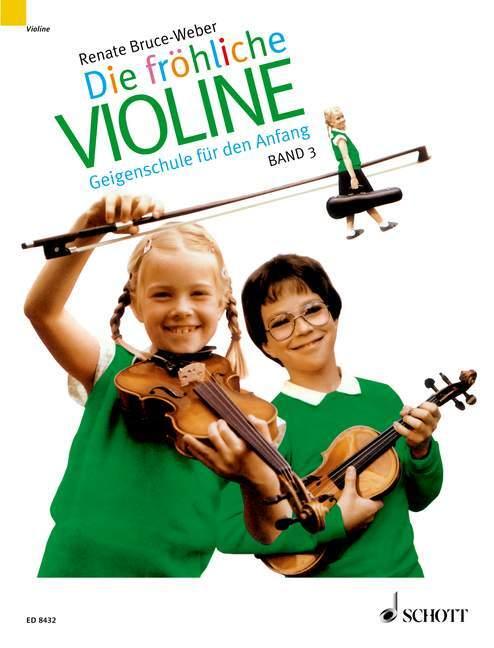 Die fröhliche Violine 3 als Buch