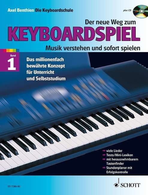 Der neue Weg zum Keyboardspiel 1. Kombi-Pack als Buch