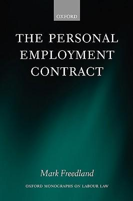 The Personal Employment Contract als Buch