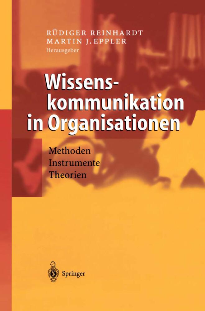Wissenskommunikation in Organisationen als Buch