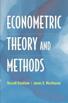 Econometric Theory and Methods als Buch