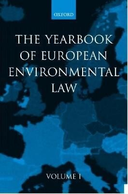 Yearbook of European Environmental Law: Volume 1 als Buch