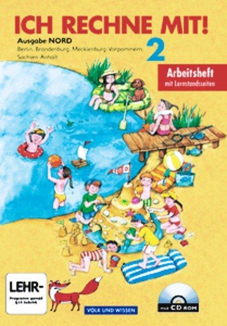 Ich rechne mit! - Berlin, Brandenburg, Mecklenburg-Vorpommern, Sachsen-Anhalt / 2. Schuljahr - Arbeitsheft als Buch (kartoniert)