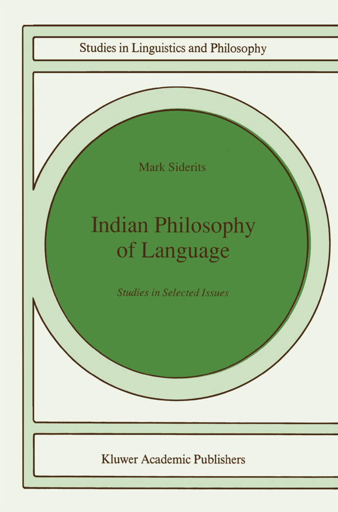 Indian Philosophy of Language als Buch