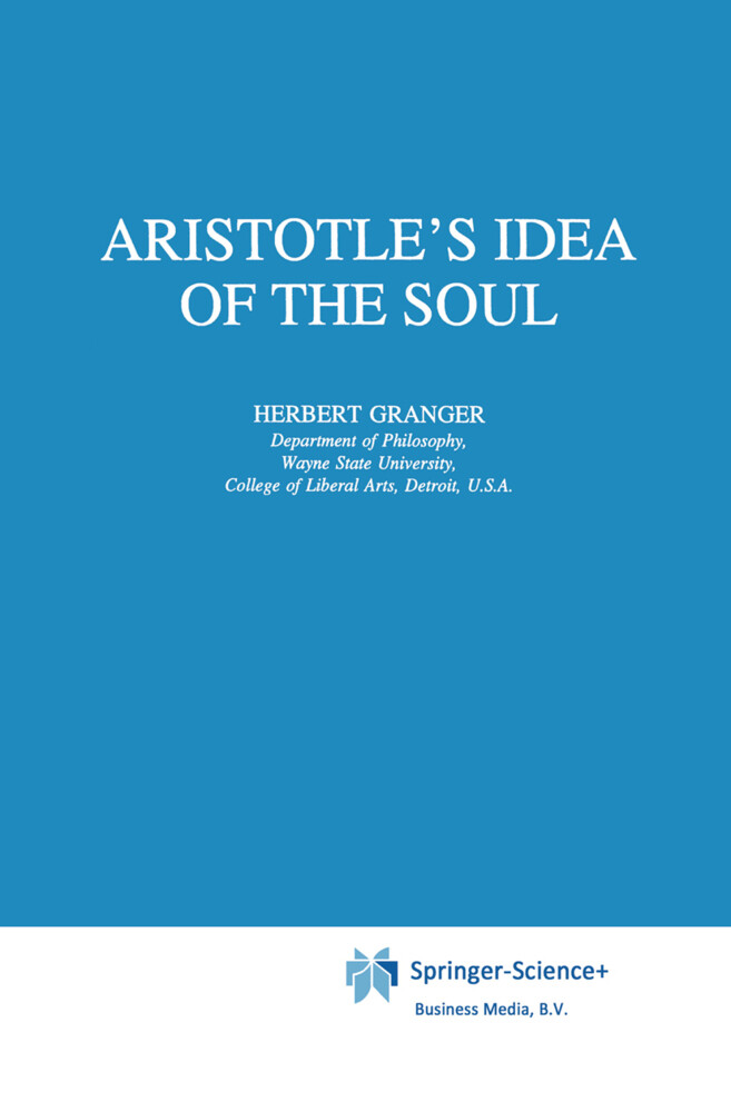 Aristotle's Idea of the Soul als Buch