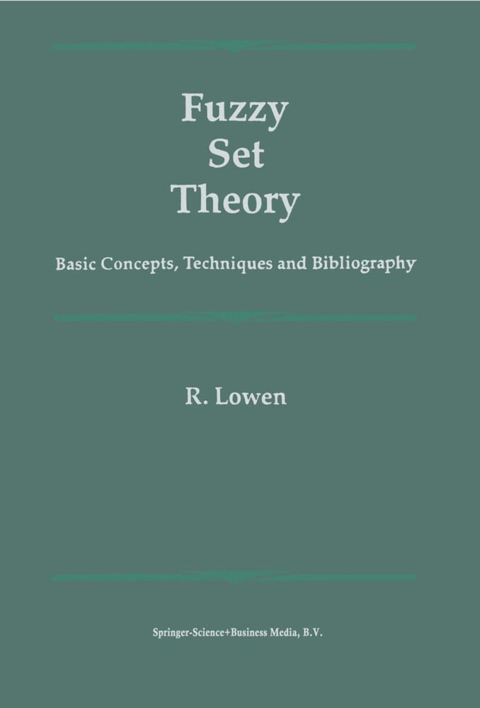 Fuzzy Set Theory als Buch