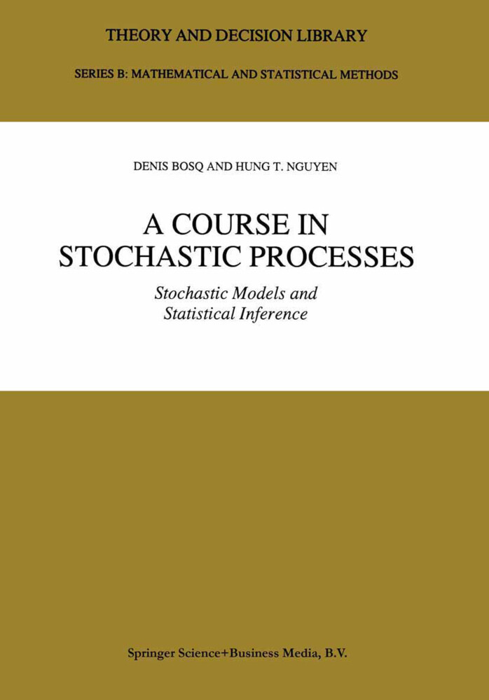 A Course in Stochastic Processes als Buch