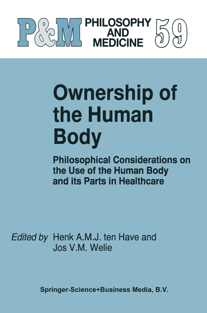 Ownership of the Human Body als Buch