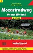 Rad- und Freizeitkarte 03. Mozart Radweg 1 : 125 000
