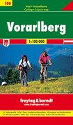 Rad- und Freizeitkarte 100. Vorarlberg 1 : 100 000