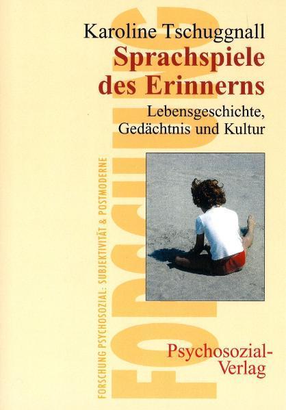 Sprachspiele des Erinnerns als Buch