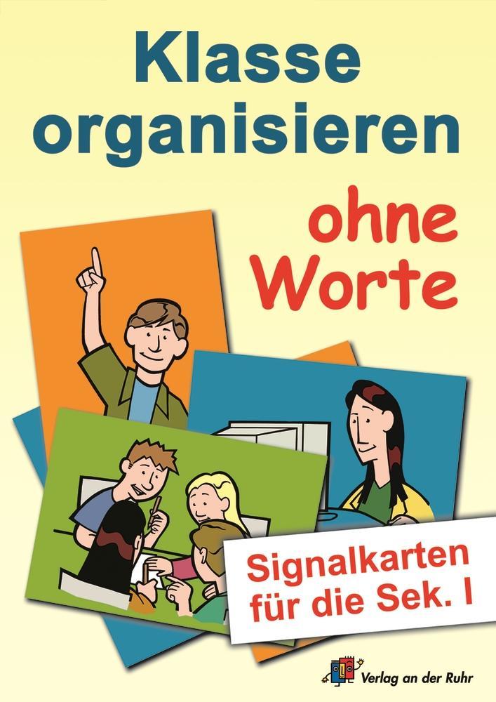 Klasse organisieren ohne Worte als Buch