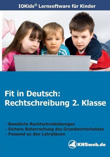 Fit in Deutsch: Rechtschreibung. 2. Klasse. CD-ROM für Windows 95/98/NT/Me/2000/XP als Software