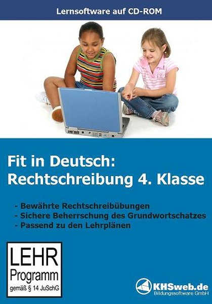 Fit in Deutsch: Rechtschreibung. 4. Klasse. CD-ROM für Windows 95/98/NT/Me/2000/XP als Software