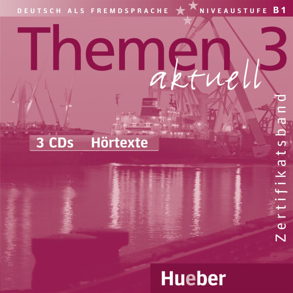 Themen aktuell 3. 3 CDs als Hörbuch