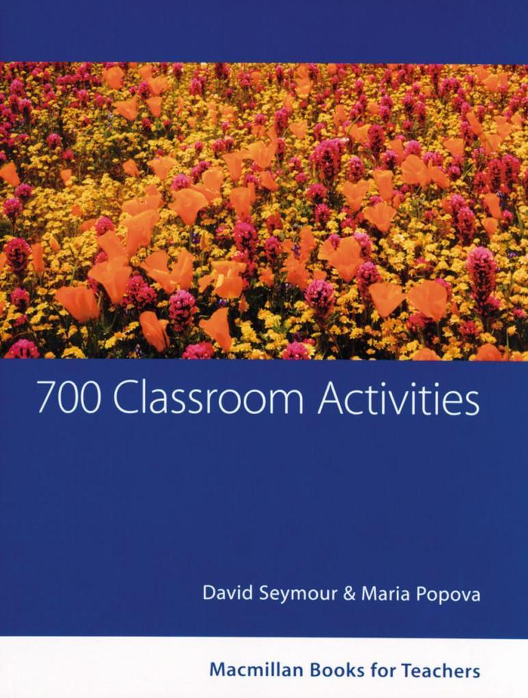 700 Classroom Activities als Buch