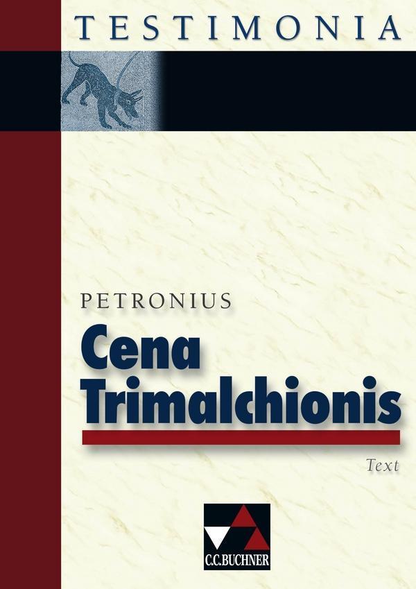 Cena Trimalchionis als Buch