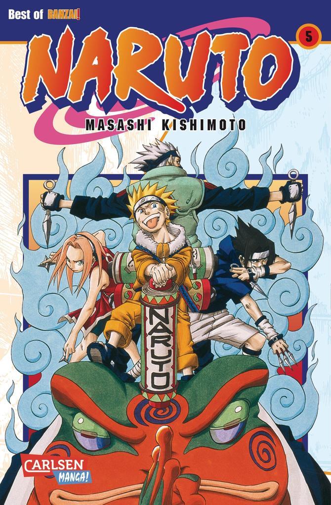 Naruto 05 als Buch
