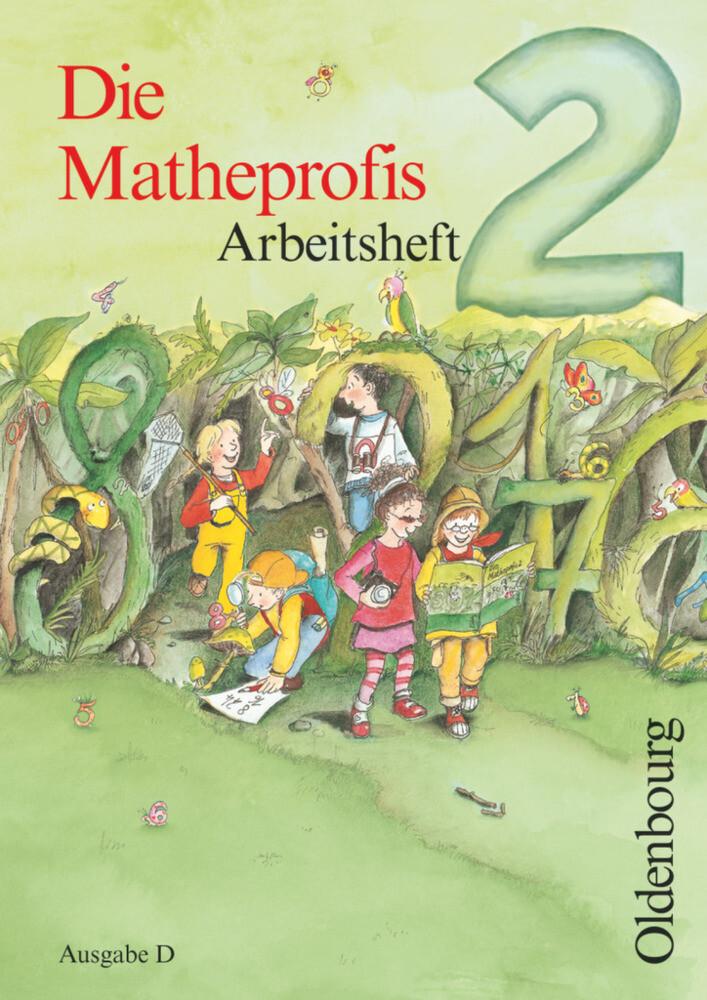 Die Matheprofis D 2. Arbeitsheft als Buch