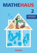 Mathehaus 2 B. Arbeitsheft. Baden-Württemberg, Rheinland-Pfalz, Saarland