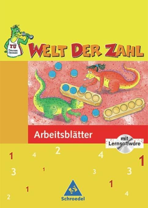 Welt der Zahl 1. Arbeitsheft mit CD-ROM. Für Berlin, Brandenburg, Mecklenburg-Vorpommern, Thüringen als Buch