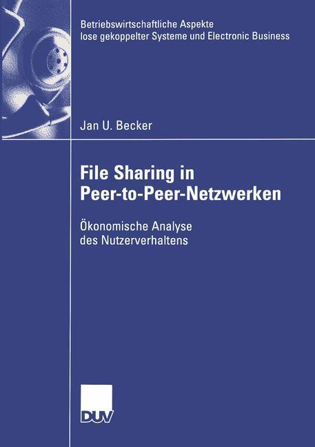 File Sharing in Peer-to-Peer-Netzwerken als Buc...