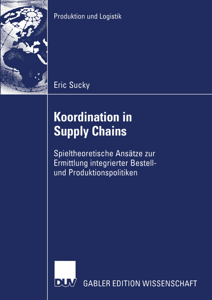 Koordination in Supply Chains als Buch