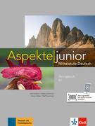 Aspekte junior B2. Übungsbuch mit Audio-Dateien zum Download