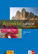 Aspekte junior B2. Medienpaket (4 Audio-CDs + Video-DVD)