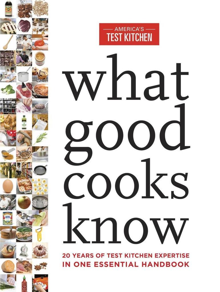 What Good Cooks Know als eBook Download von