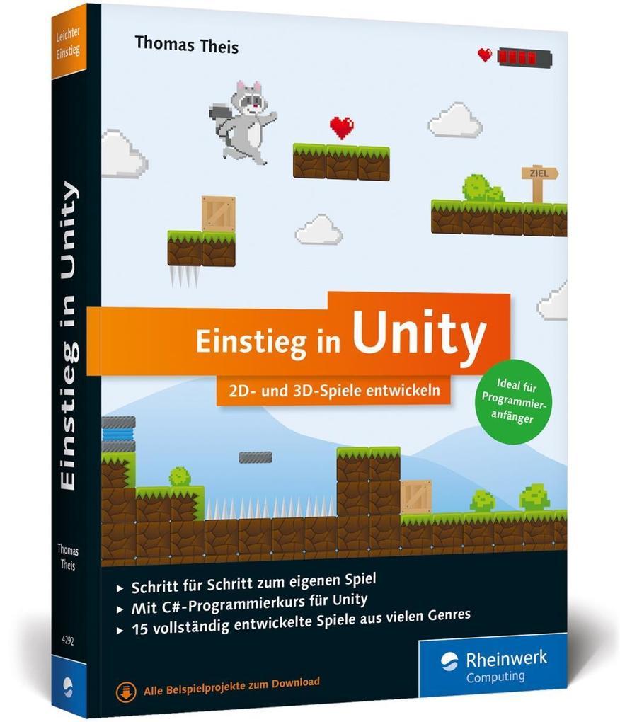 Einstieg in Unity als Buch