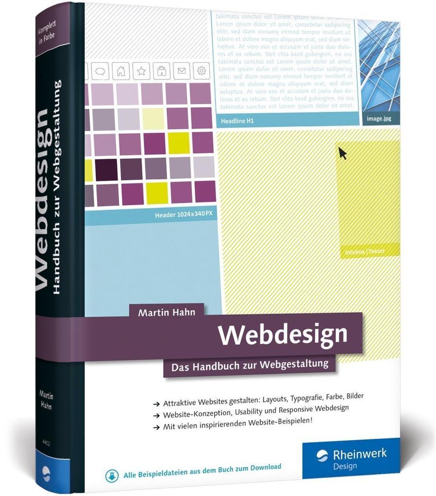 Webdesign als Buch von Martin Hahn