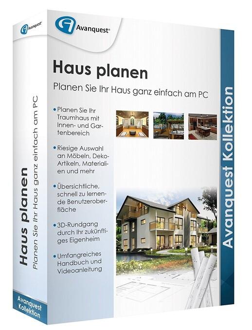 Haus planen, 1 DVD-ROM