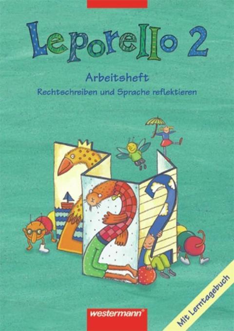 Leporello 2. Arbeitsheft. Schülerband. Nordrhein-Westfalen als Buch