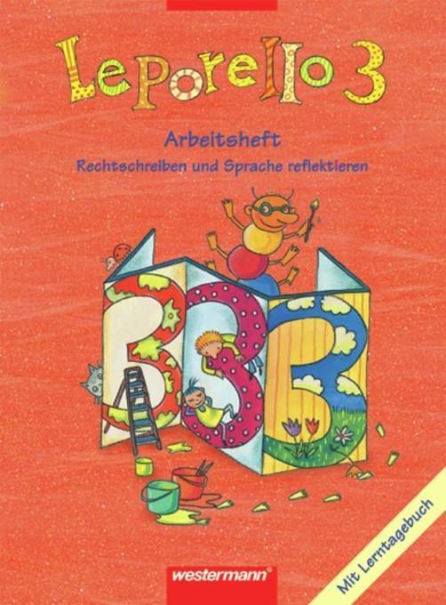 Leporello 3. Arbeitsheft. Schülerband. Allgemeine Ausgabe als Buch