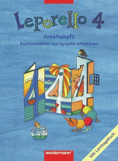 Leporello 4. Arbeitsheft. Schülerband. Nordrhein-Westfalen als Buch