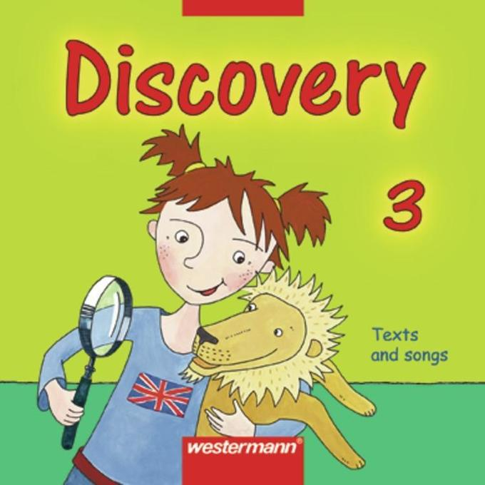 Discovery 3. Text and Songs. CD. Bayern als Hörbuch