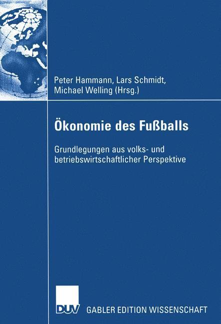 Ökonomie des Fußballs als Buch