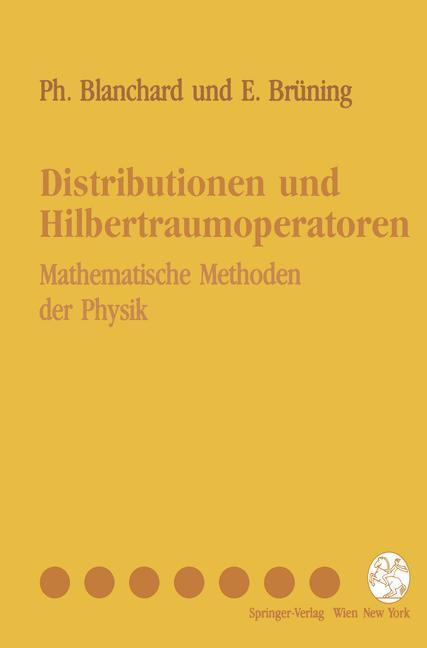 Distributionen und Hilbertraumoperatoren als Buch