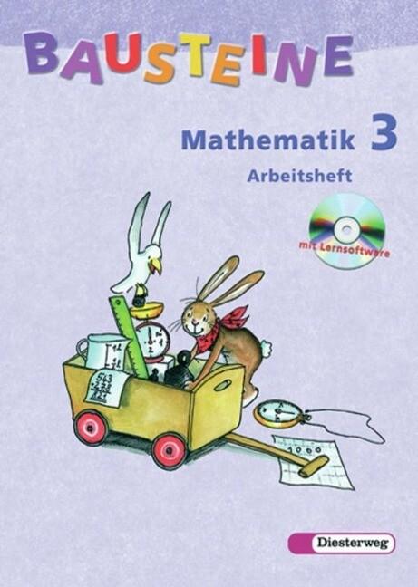 Bausteine Mathematik 3 - Arbeitsheft. mit CD-ROM / Berlin, Bremen, Hamburg, Niedersachsen, Nordrhein-Westfalen, Rheinland-Pfalz, Schleswig-Holstein als Buch