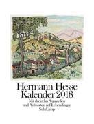 [Hermann Hesse: Hermann Hesse Kalender 2018]