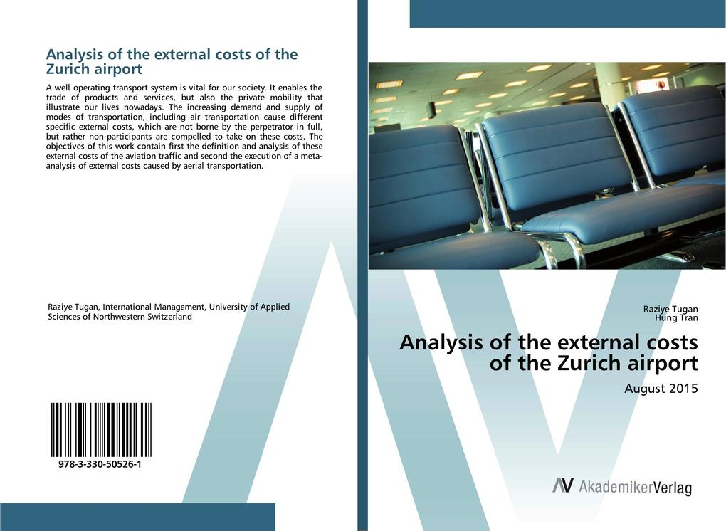 Analysis of the external costs of the Zurich ai...