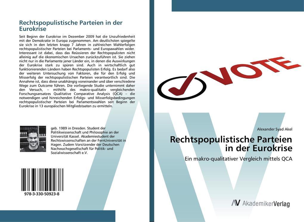 Rechtspopulistische Parteien in der Eurokrise a...