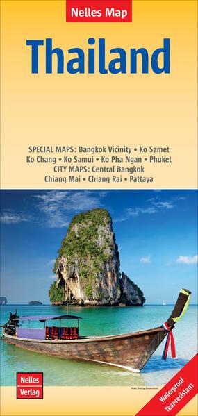 Nelles Map Thailand 1:1 500 000 als Buch von