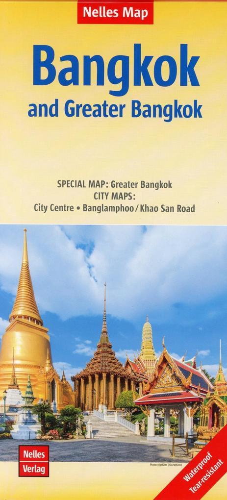 Nelles Map Bangkok and Greater Bangkok als Buch...