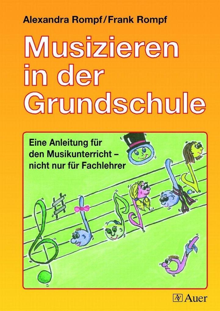 Musizieren in der Grundschule als Buch