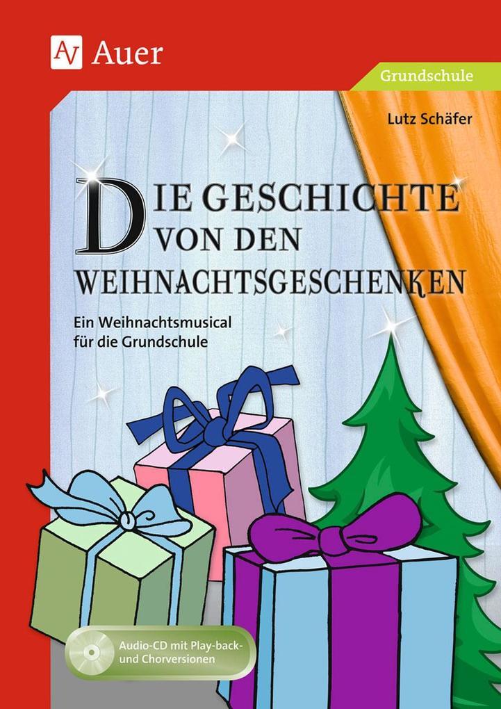 Geschichte von den Weihnachtsgeschenken als Buch