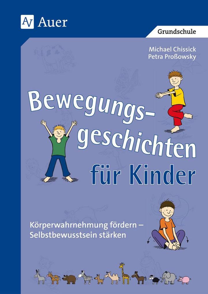 Bewegungsgeschichten für Kinder als Buch